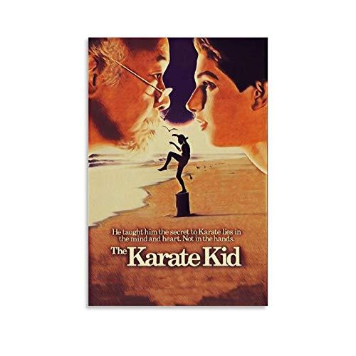 ASDUN Karate Kid Klassisches Filmposter, dekoratives Gemälde, Leinwand, Wandkunst, Wohnzimmer, Poster, Schlafzimmer, Malerei, 30 x 45 cm