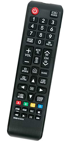 ALLIMITY BN59 01247A Fernbedienung Ersatz für Samsung 4K TV UE78KS9500 UE75KS8000 UE65KU6680 UE65KU6500 UE65KU6409U UE65KU6079 UE50KU6079 UE50KU6070 UE49K5572 UE43KU6400