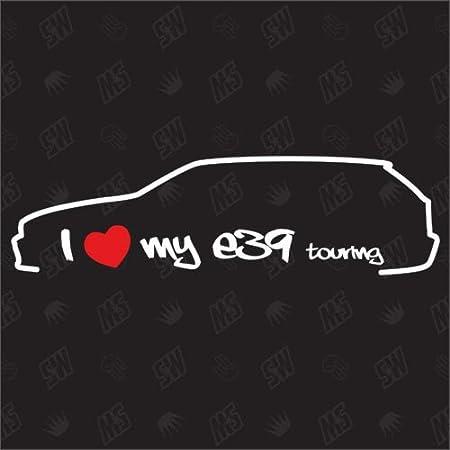 Speedwerk Motorwear I Love My E61 Touring Sticker Bj 03 10 Auto