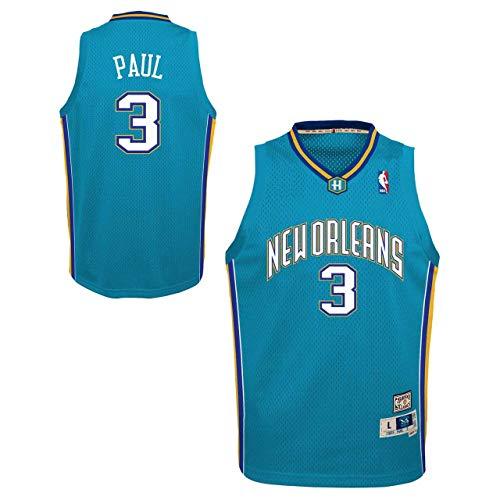 New Orleans Pelicans Youth Chris Paul NBA Soul Swingman Jersey - Carolina Blue #3, Medium