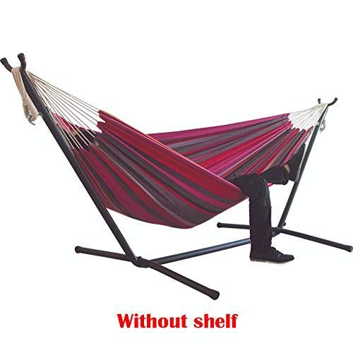 Ajcwhml Hamac de lit à Rayures en Toile épaisse, Chaise Suspendue à Rayures Confortable et Durable Grand hamac Suspendu G