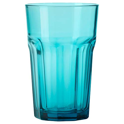 IKEA 403.428.98 Pokal Glas, türkis