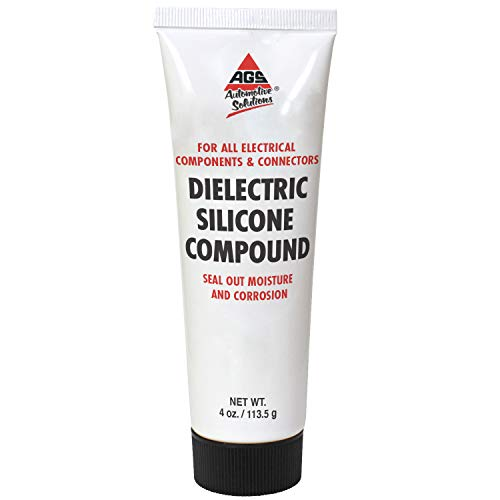 AGS Dielectric Silicone Grease Compound for All Electrical Components & Connectors - 4 oz Tube