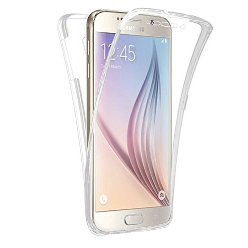 HQ-CLOUD® Coque Gel 360 Protection Integral Transparent Invisible pour Samsung Galaxy Grand Prime SM-G530F/ (4G) SM-G531F