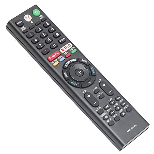 New RMF-TX310U Replace Voice Remote Control with Mic fit for Sony 4K Smart Bravia TV XBR-43X800G XBR-75X800G XBR-65X800G XBR-49X800G XBR-55X800G XBR-85X900F XBR-49X900F XBR-75X900F XBR-65X900F