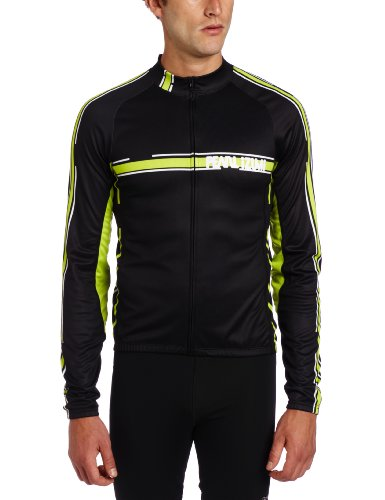 PEARL IZUMI Elite - Camiseta de Ciclismo para Hombre, tamaño S, Color Negro