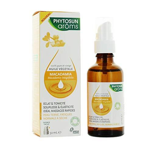 Phytosun Arôms Huile Végétale Macadamia 50 ml