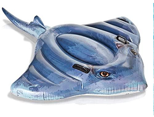 Anillo De Natación Flotador Fila Flotador Cama Surf Niño Adulto Salvavidas Enviar Pie A Pisar Una Bomba De Aire Y Un Kit De Reparación Deportes Acuáticos