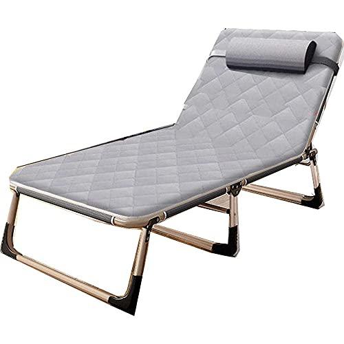 WGFGXQ Tumbona multiposición, Silla Plegable de Gravedad Cero, Picnic al Aire Libre, Camping, Sol, Silla de Playa, sillones reclinables, 2