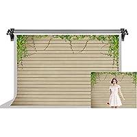 F-FUN SOUL 木製床 写真 バックドロップ 7X5フィート ストライプ コットン 背景 パーティー 写真 スタジオ ブース 背景 HXFS024