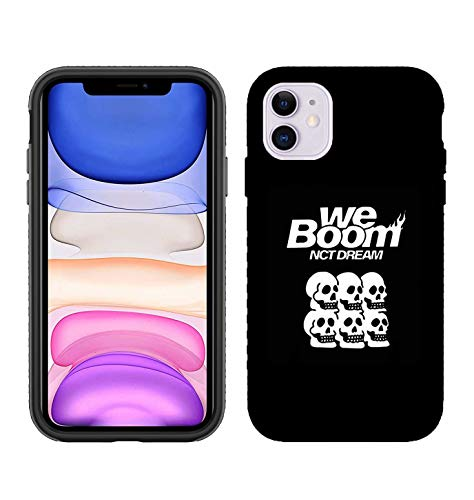YJYP Kpop NCT Phone Case NCT Dream We Boom Phone Cover for iPhone 8/X/XR/XS/11ProMax