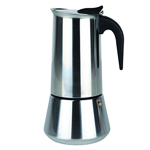 Orbegozo KFI 950 - Cafetera de acero inoxidable, 9 tazas