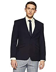 Park Avenue Mens Notch Lapel Regular Fit Blazer