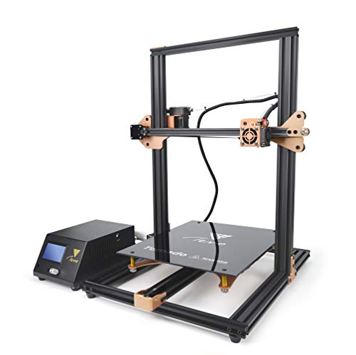 TEVO Tornado 3D Printer, 95% Assembled Aluminium Extrusion DIY Printer 3D Printing impresora 3D Printer with Extruder for PLA, ABS, TPU, Copper, Wood, and Flexible Filaments