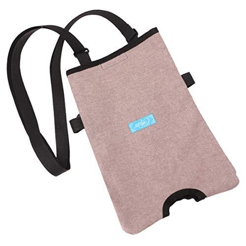 GHzzY Bolsa de orina para catéter Soporte para piernas - Bolsa de Almacenamiento para Bolsa urinaria - Bolsa para ostomía Soporte para catéter para el hogar, Silla de Ruedas y Cama(2000ml)