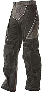 Xelement B4402 Men`s Black and Grey Advanced X-Armored Tri-Tex Fabric Motorcycle Pants