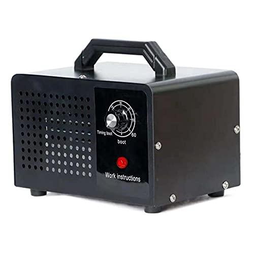 Generador de Ozono 10.000 MG/h, Purificador Ozono de Aire Ozonizador con Temporizador para Hogar, Garajes, Granjas, Hoteles y Mascotas, Purificador de Aire