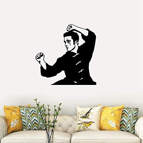 etiqueta de la pared decoración Deporte Artes Marciales Luchador Karate Aikido