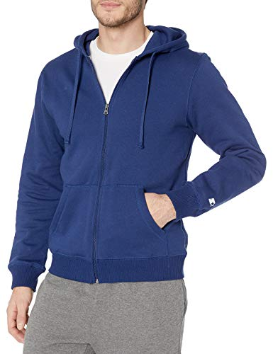 Starter Men's Zip-Up Hoodie, Amazon Exclusive, Team Navy, Medium