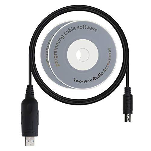 Cavo di programmazione USB a 8 pin CT-62 Cat e CD, compatibile per FT 857 857D FT100 817 817D VX 1700 Radio Talkie 1,8 m