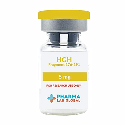 HGH Frag 176-191- 5mg - Research Peptide - 98% Purity - Certified