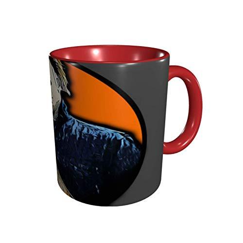 Hdadwy Anime Michael Myers Tasse Kaffeetasse Personalisierte Tassen, lustige Tassen, Teebecher 11oz Keramik Kaffeetasse Kindergeschenk Magic Cup für Büro, Schule, Zuhause, Reisen