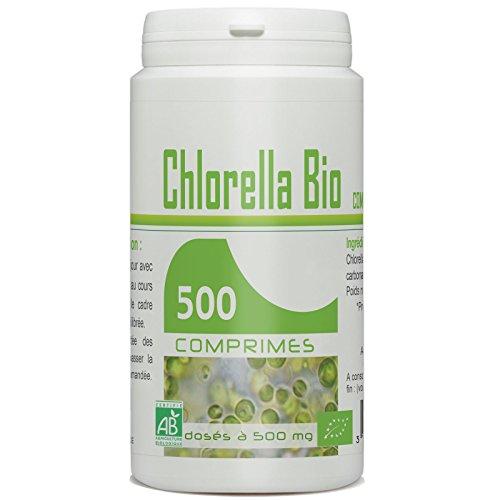 Chlorella Biologique 500mg - 500 comprimés