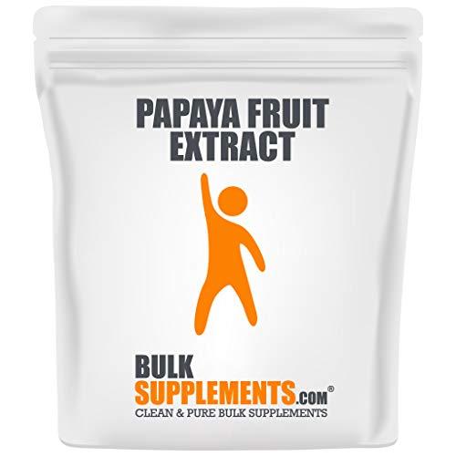 BulkSupplements.com Papaya Fruit Extract - Immune Boost - Bone Marrow Supplement - Blood Boost (100 Grams - 3.5 oz)
