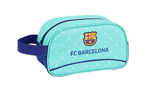 FC Barcelona 811926248 bagage, kinderen, uniseks, turquoise, eenheidsmaat