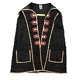 Liontouch 18103LT Capa de Juguete de Espuma del Pirata Capitán Cross para niños | Forma Parte de la línea de Disfraces para niños