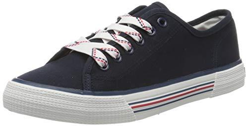 TOM TAILOR Damen 8095305 Sneaker, Blau (Navy 00003), 39 EU