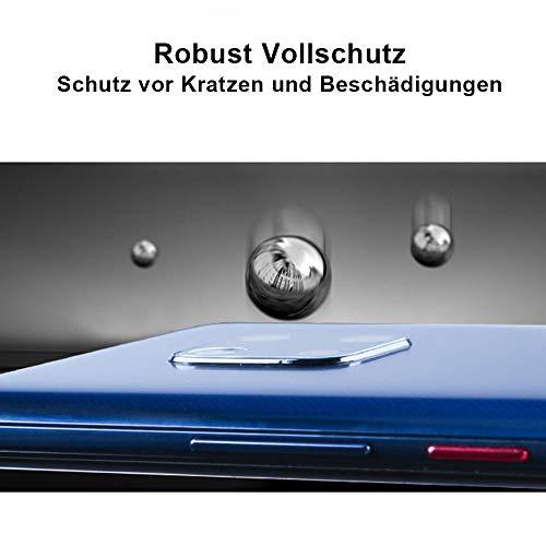 QiMai 2 Stück Panzerglas für Huawei Mate 20 Pro Kamera HD Schutzfolie UV -Glas, Kinderleicht anbringen - 4