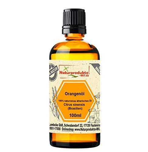 Orangenöl 100 ml 100% naturreines ätherisches Öl