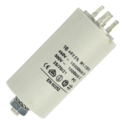 Fixapart W1-11016 Kondensator AC, zylindrisch, weiß
