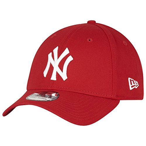 New Era 39Thirty Flexfit Cap - NY Yankees rot/weiß S/M