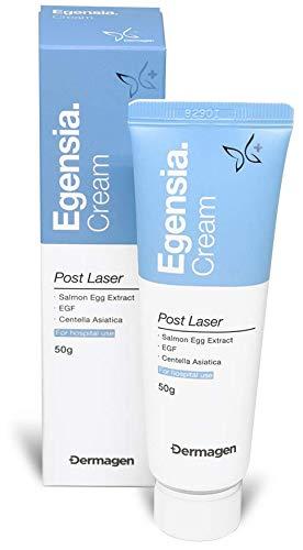 Dermagen Egensia Cream Made in Korea Post Laser Cream CICA Cream Scar Cream Scar Removal Cream(Stretch Marks, Acne Marks, Wound) Skin Regeneration Centella Asiatica PDRN EGF 1.76 fl.oz…