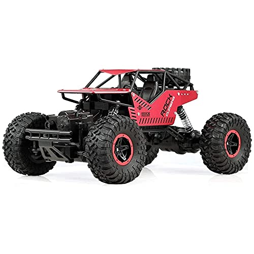 Moerc 1:16 RC Cars 2.4 GHz Control de Radio 4WD Electric High Speed Racing Car Rock Crawler Control Remoto Drift Racing Toy Cars 4x4 Drive Off-Road Juguetes para niños Niños Regalo