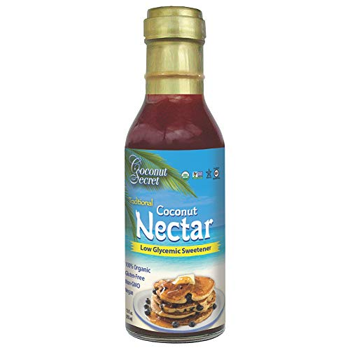 Coconut Secret Coconut Nectar (2 Pack) - 12 fl oz - Natural, Low-Glycemic Liquid...