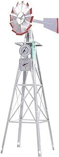 Garden Windmill 4FT 146cm Metal Ornaments Outdoor Decor Ornamental Wind Mill