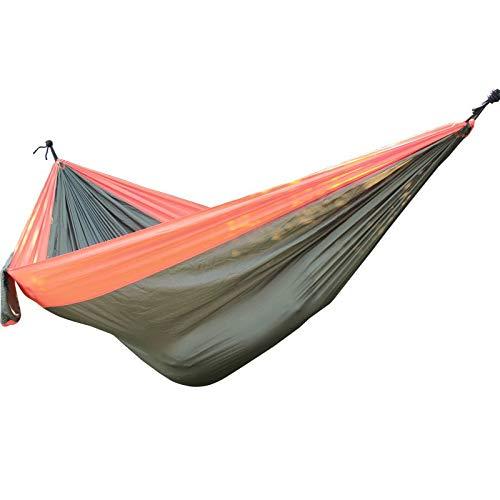 Bureze 320 * 200cm grote draagbare hangmat Swing hoge sterkte Hamac 2-3 Person opknoping slaapbank Hamak
