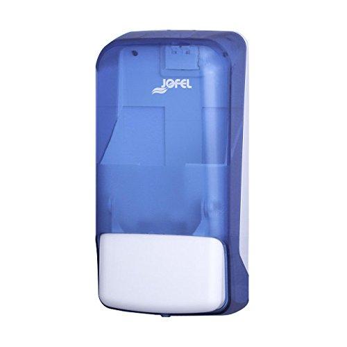 Jofel AC81250 Azur Dosificador de Jabón Rellenable, 0.85 L, Azul