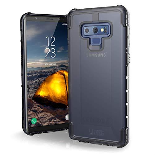 Urban Armor Gear Plyo Hülle für Samsung Galaxy Note 10 Plus Handyhülle nach US-Militärstandard (Kompatibel mit der 5G Version,Qi kompatibel, Sturzfest, Vergrößerte Tasten) - transparent