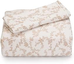 Laura Ashley Flannel Sheet Set, Queen, Victoria