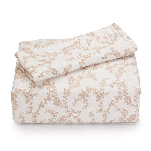 Laura Ashley Home Flannel Sheet Set Queen Victoria