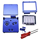 Henghx Sostituzione Pieno Alloggiamento Guscio Coperchio Caso Le Parti Set w/Lente&Cacciavite per Nintendo Gameboy Advance SP GBA SP Console