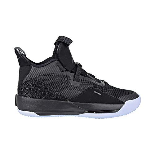 Nike Herren Air Jordan Xxxiii Basketballschuhe, Schwarz (Black/Dark Grey/White 002), 45 2/3 EU