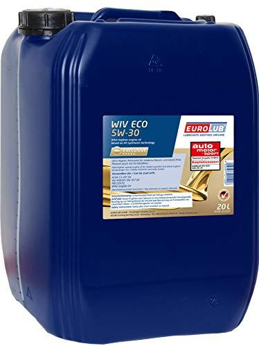 EUROLUB WIV ECO SAE 5W-30 Motoröl, 20 Liter