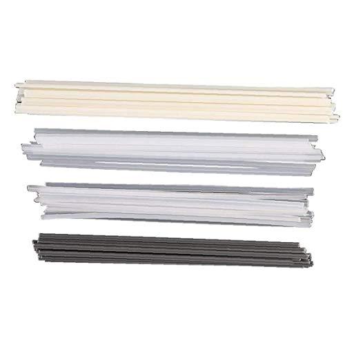 Sanfiyya Varillas de Soldadura de plástico ABS/PP/PVC/PE Soldador Varillas para Soldador de plástico 50PCS Equipo de Trabajo