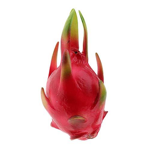 Tubayia Realistische Künstliche Drachenfrucht Früchte Kunstobst Kinder Pädagogisches Spielzeug Foto Requisiten (Klein)