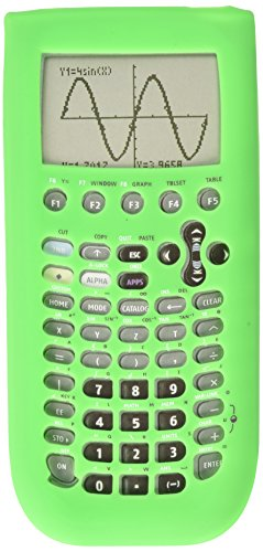 Guerrilla Silicone Case for Texas Instruments TI-89 Titanium Graphing Calculator, Green